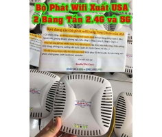 Wifi Aruba 135 Hàng Mỹ USA 2 Băng Tần 2.4Ghz và 5Ghz